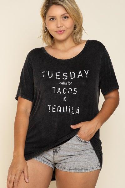 Taco Tuesday Tee - Plus