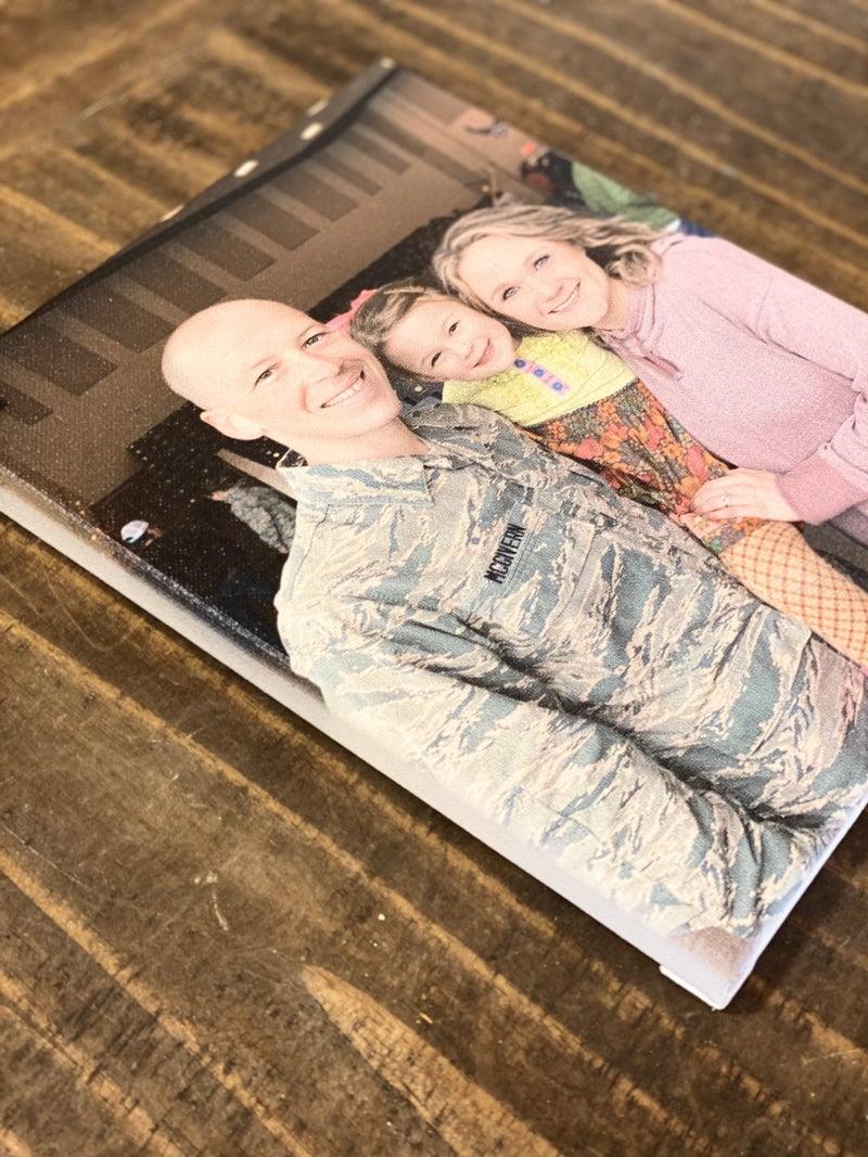 Custom Photo Canvas 8x10