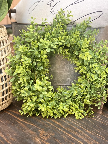 "16"" Beautiful Boxwood Wreath"