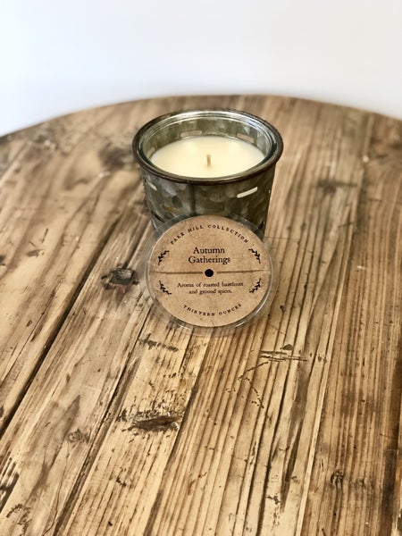 Olive Bucket Candle- Autumn