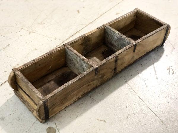 Vintage Three Slotted Brick Mold