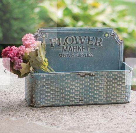 Flower Market Metal