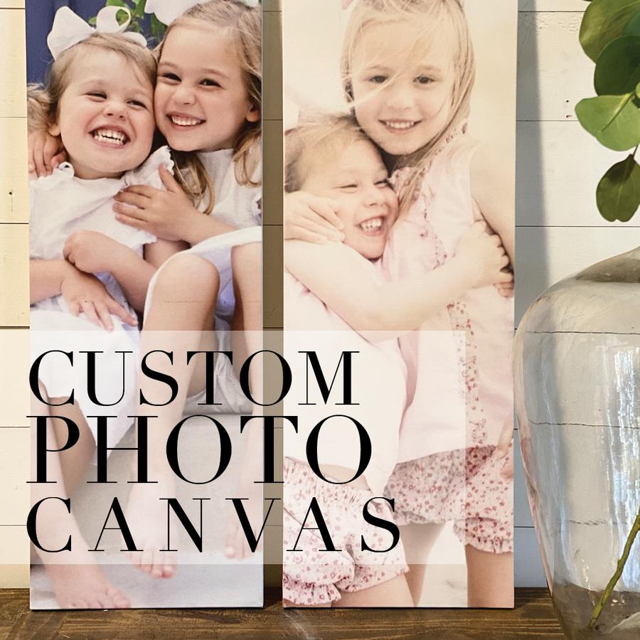 Custom Photo Canvas