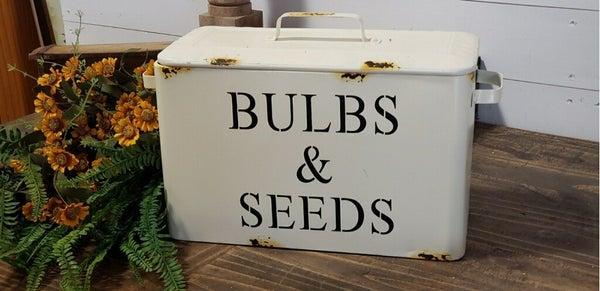Bulb & Seed Bins