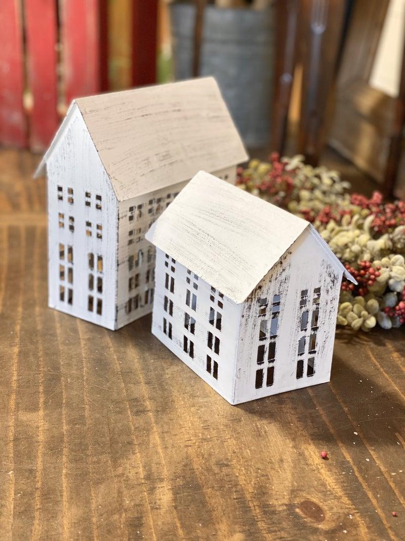 White Rustic Farmhouse