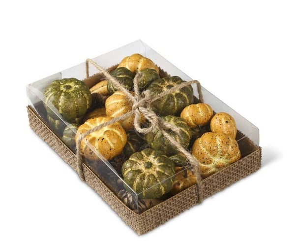 Box of Harvest Pumpkins (grn)