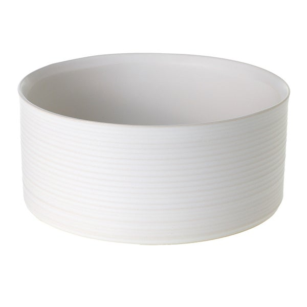 Decatur White Ceramic Bowl