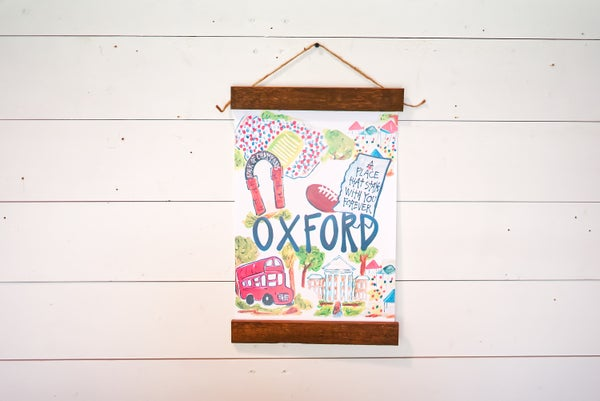 Oxford, MS Wall Hanging