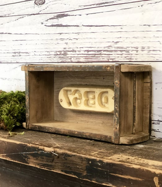 Vintage Brick Mold with Words