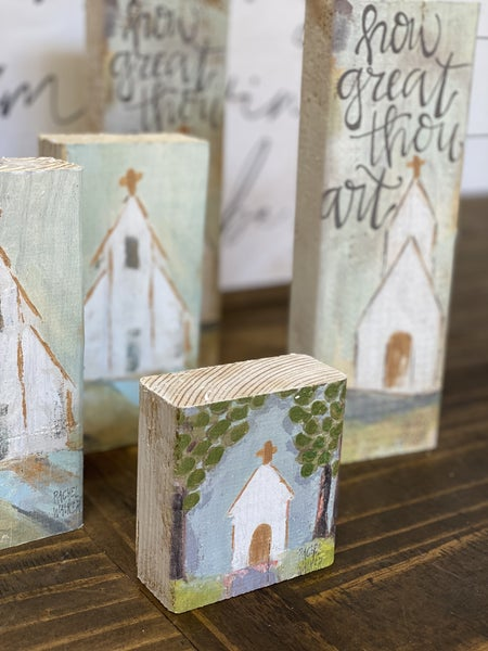 Chunky Art Blocks-set of 3