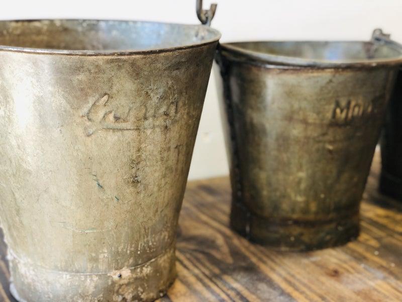 Antique Watering Buckets