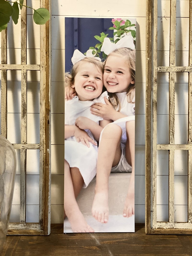 Custom Photo Canvas 12x36