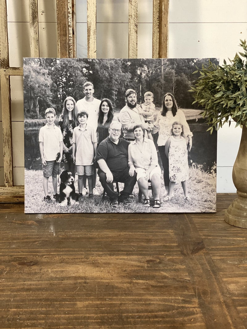 Custom Photo Canvas 16x20