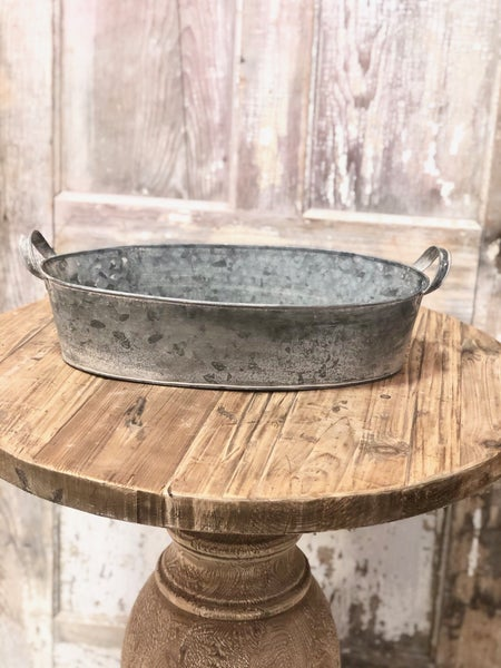 Galvanized Wash Pan