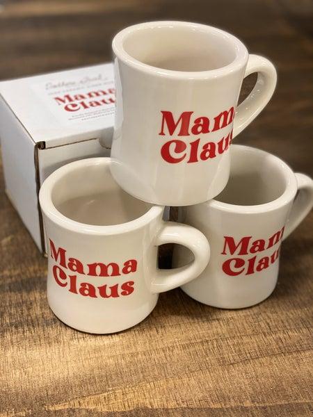 Mama Claus Diner Mug