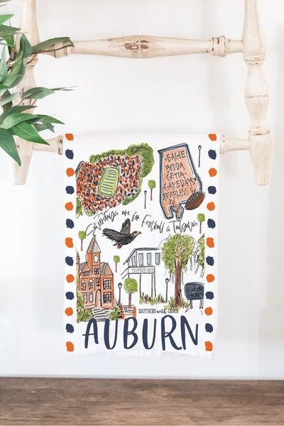 Auburn - Cutting Board/ Tea Towel Bundle