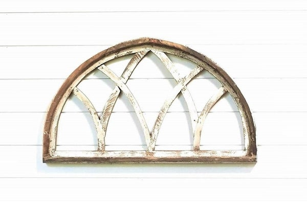 Half Moon Distressed Arch