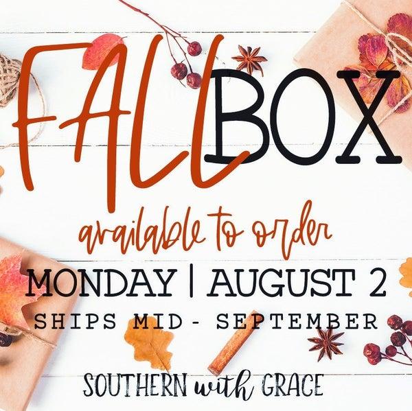 Annual Fall Box 2021