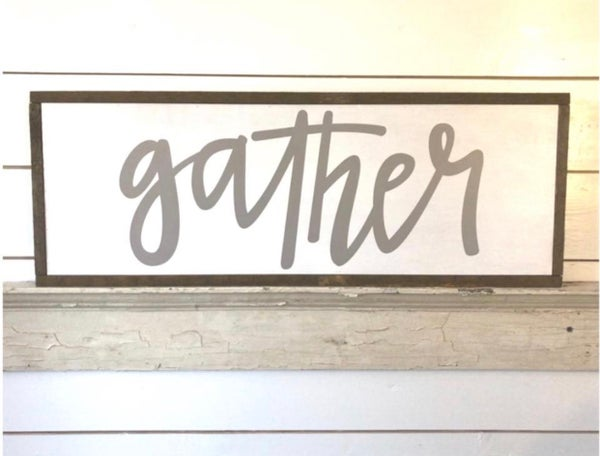 SWG Gather Sign