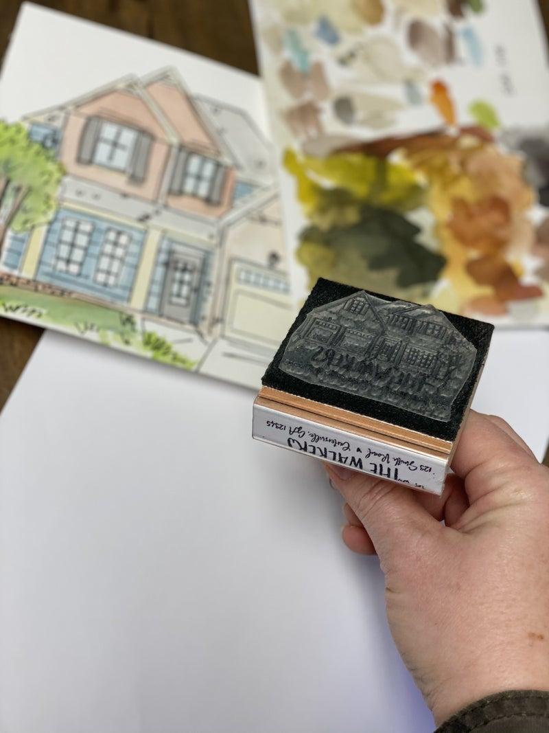 Custom Address Stamp Bundle