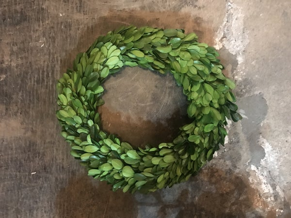 "Boxwood Ring (10"") (No Ribbon)"