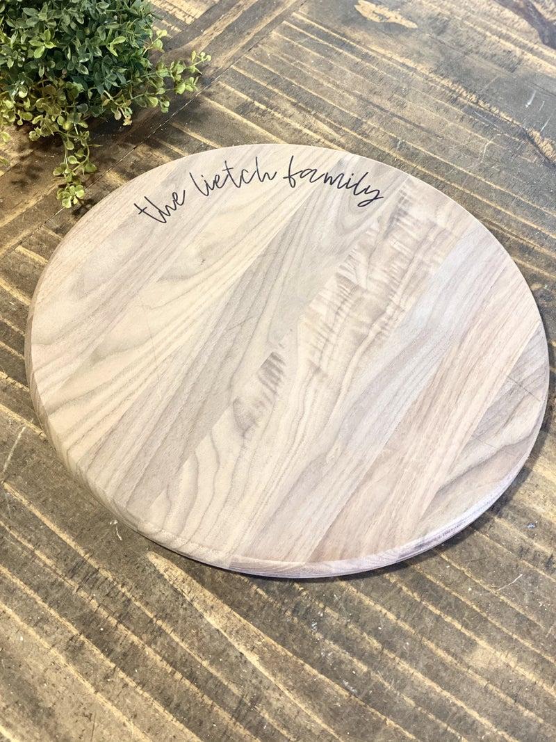 """15"""" Walnut Food Safe Cutting Board"""