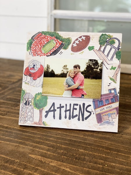 Athens GA Frame