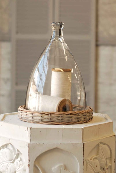 Bell Jar with Willow Base