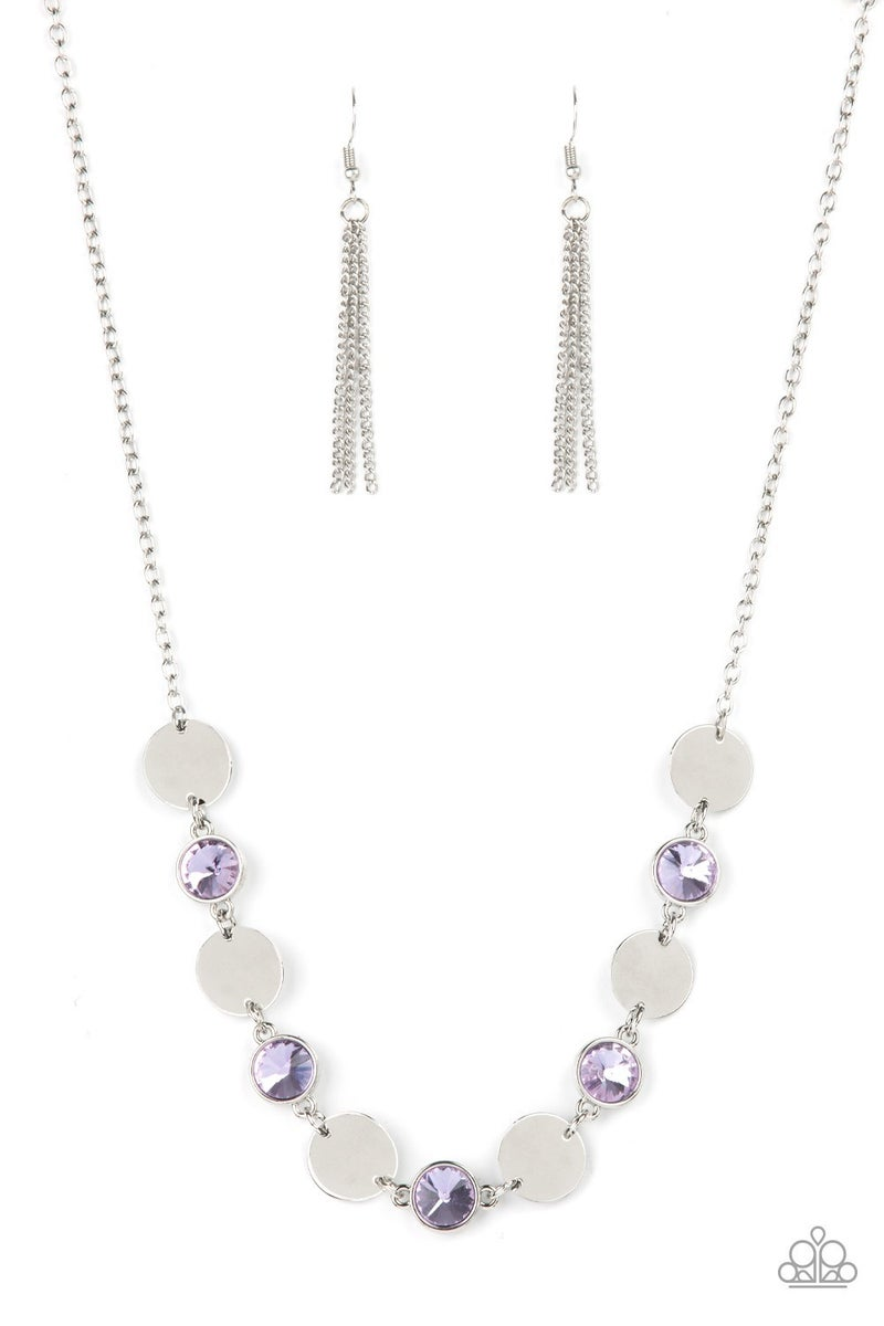 Refined Reflections Purple Necklace - PREORDER
