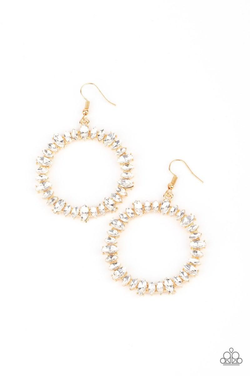 Glowing Reviews Gold Earrings - PREORDER