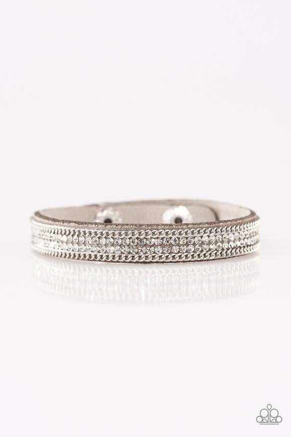 Babe Bling Silver Bracelet - Sparkle with Suzanna
