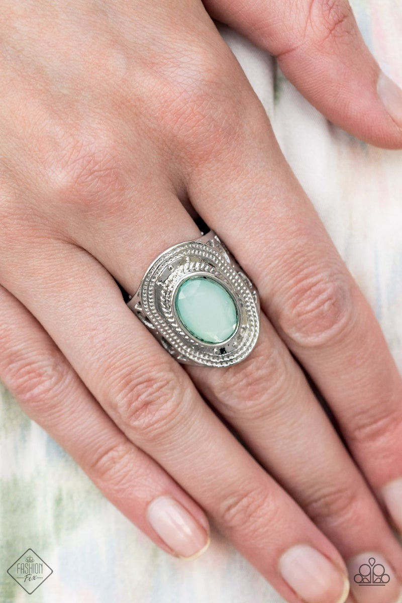 Calm And Classy Blue Ring - Sparkle with Suzanna
