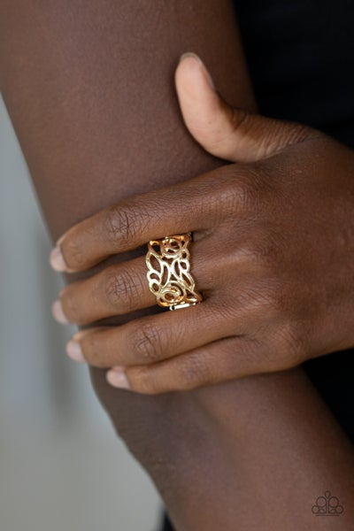 Ivy Leaguer Gold RIng