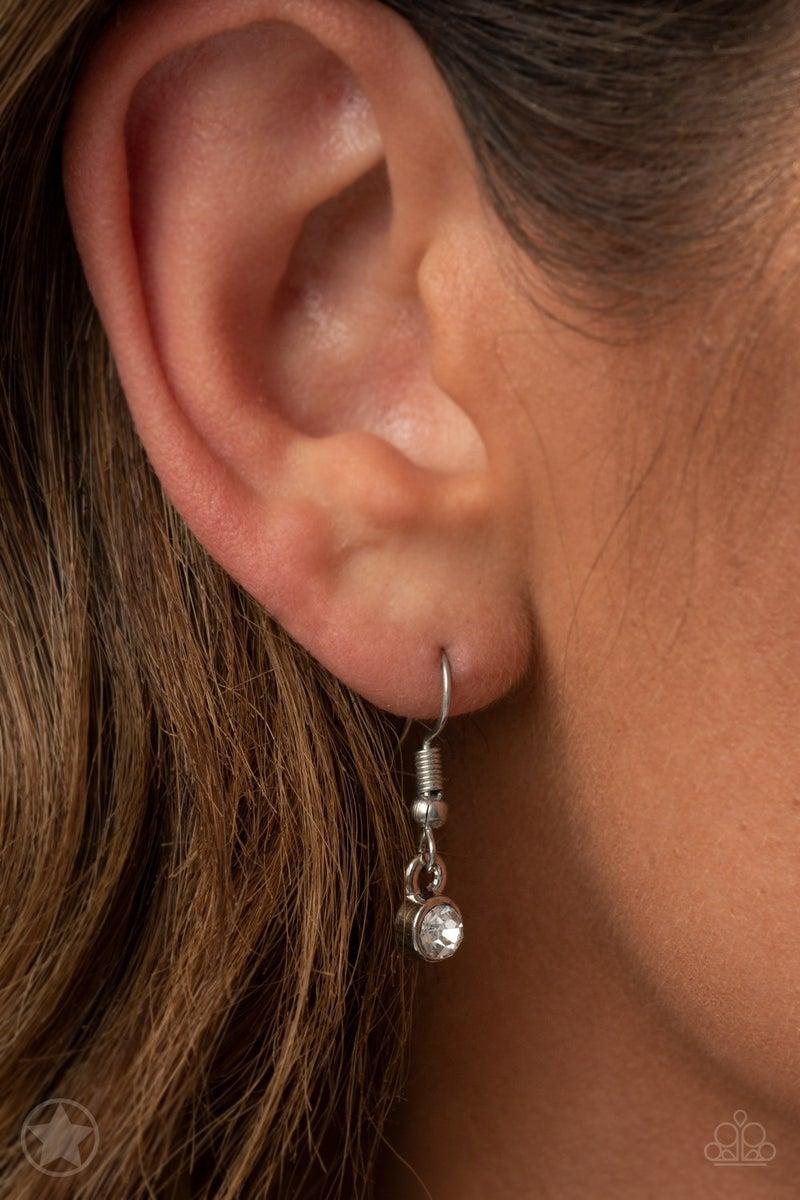 Spellbinding Sparkle White Necklace
