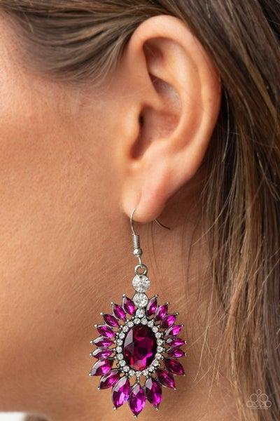 Big Time Twinkle Pink Earring - PRECLAIM