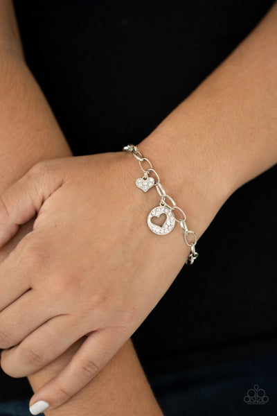 Move over Matchmaker White Bracelet