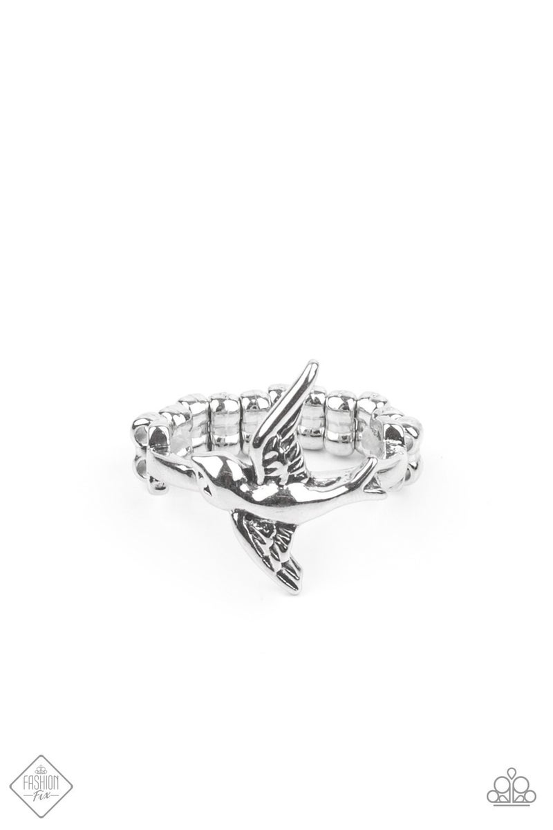 Totally TWEET-terpated Silver Ring - Sparkle with Suzanna