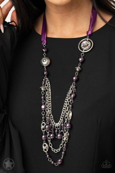 All The Trimmings - Purple Necklace Blockbuster Exclusive