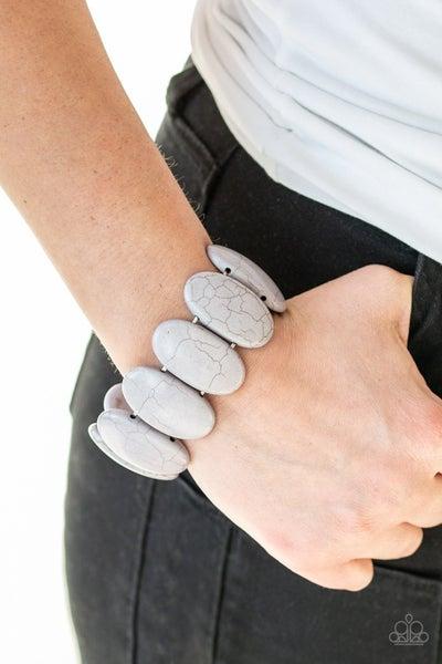 Dramatically Nomadic Silver Bracelet