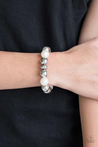 Upper Manhattan White Bracelet