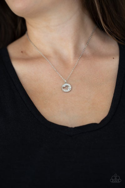 Bare Your Heart White Necklace