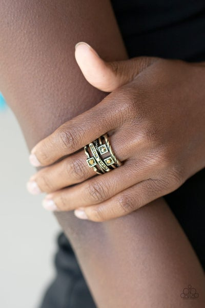 Couture Connoisseur Brass Ring