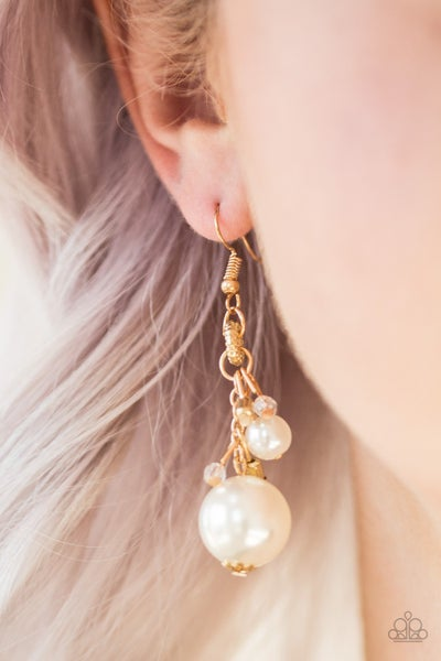 Timelessly Traditional Gold Earring