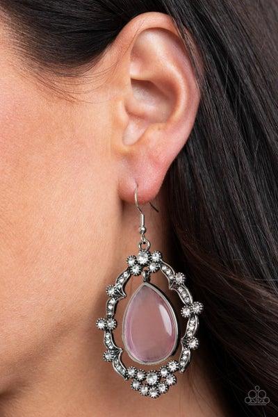 Icy Eden Pink Earring