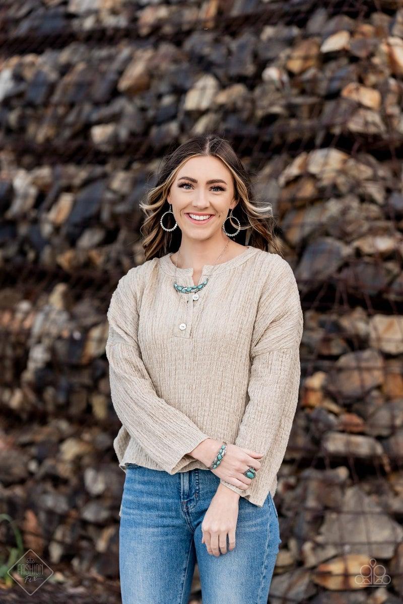 Rustic Society Silver Earring -Fashion Fix