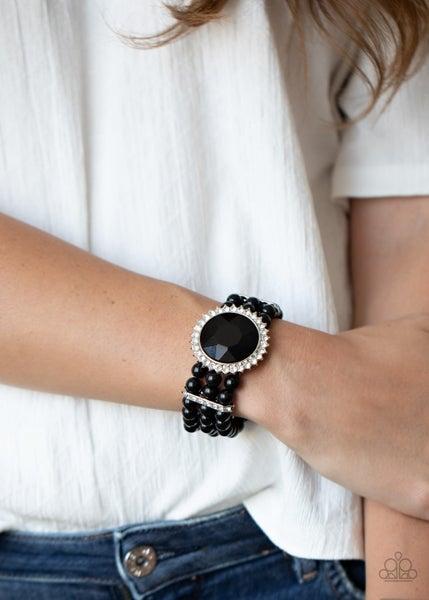 Speechless Sparkle Black Bracelet