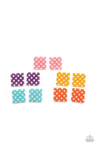 Starlet Shimmer Polka Dot Earrings - 5 pairs