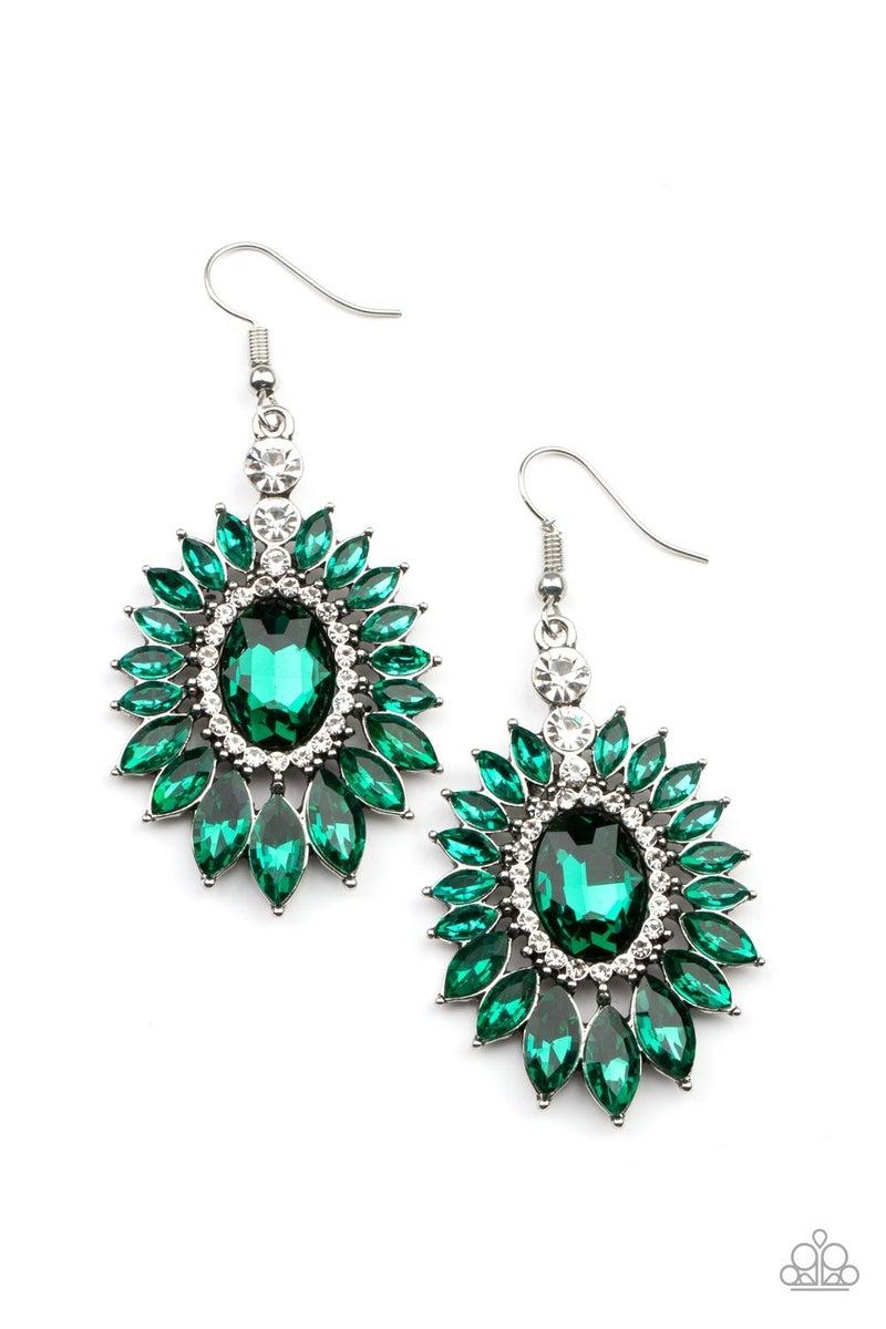 Big Time Twinkle Green Earring