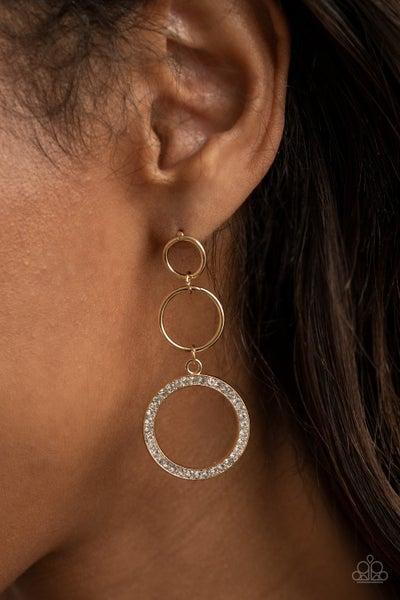 Rule Breaking Radiance Gold Post Earring