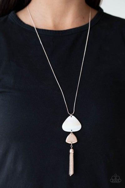 TIDE You Over Rose Gold Necklace - PREORDER